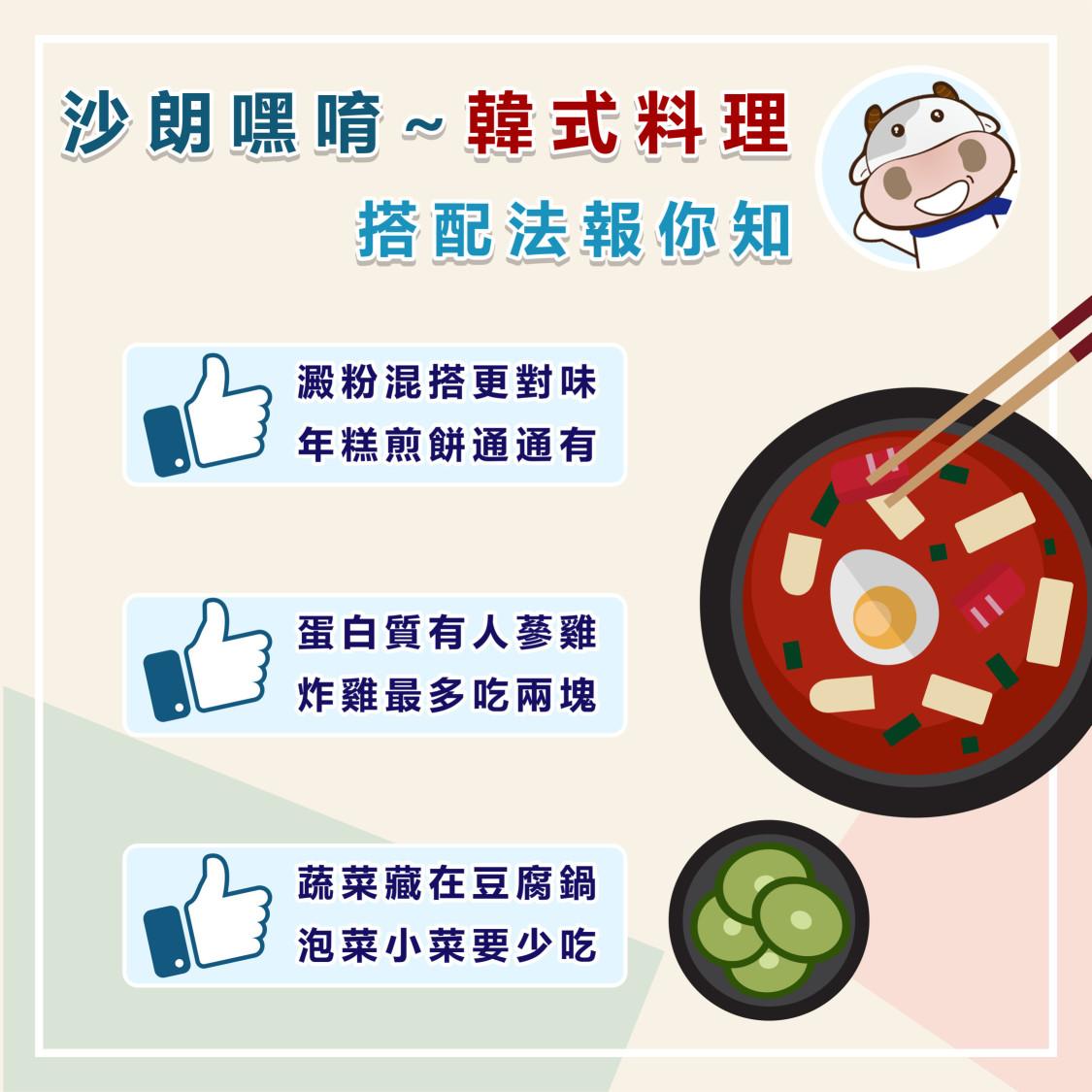 糖尿病也能吃韓式料理!澱粉、蛋白質、蔬菜這樣搭
