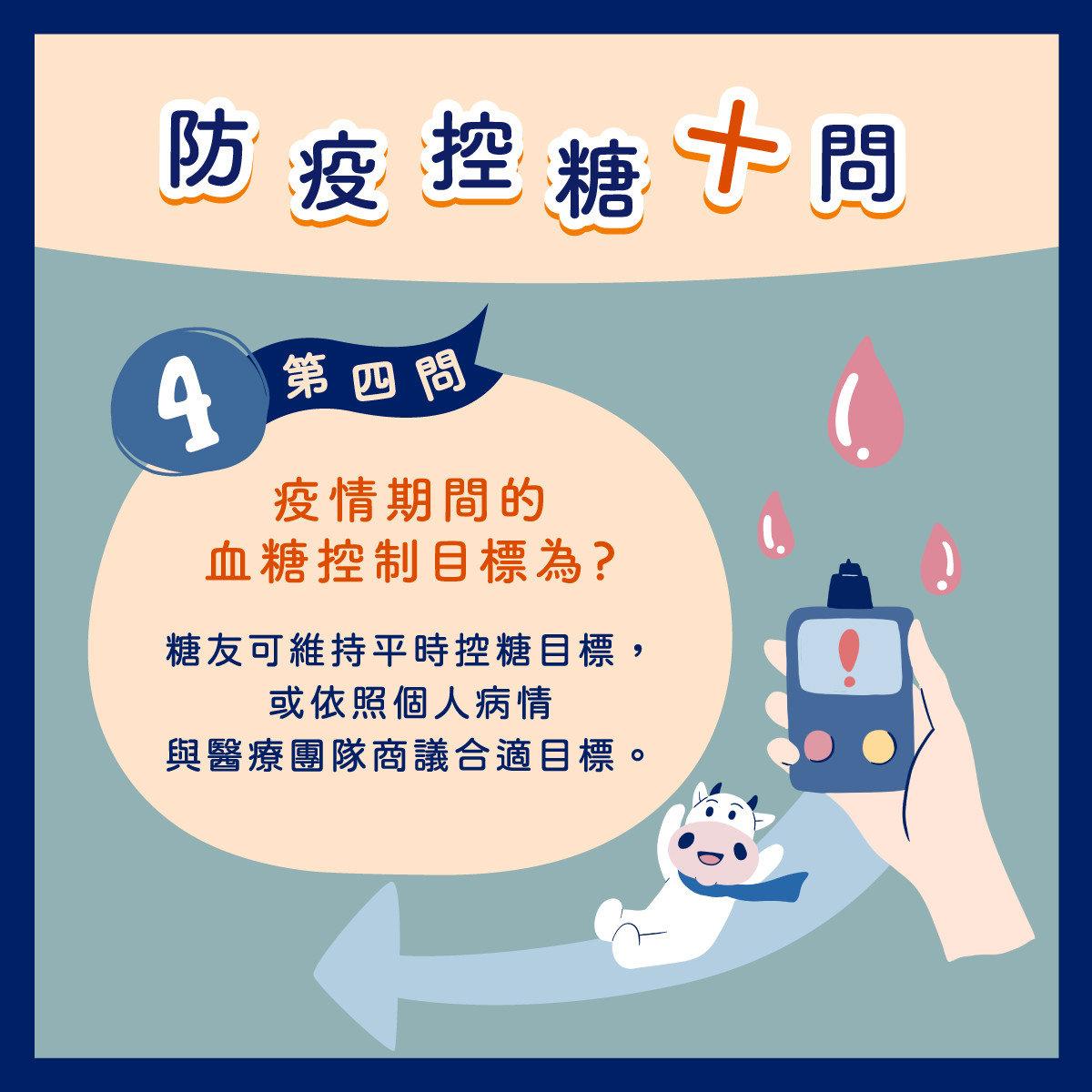 防疫控糖第四問-疫情間血糖控制的目標