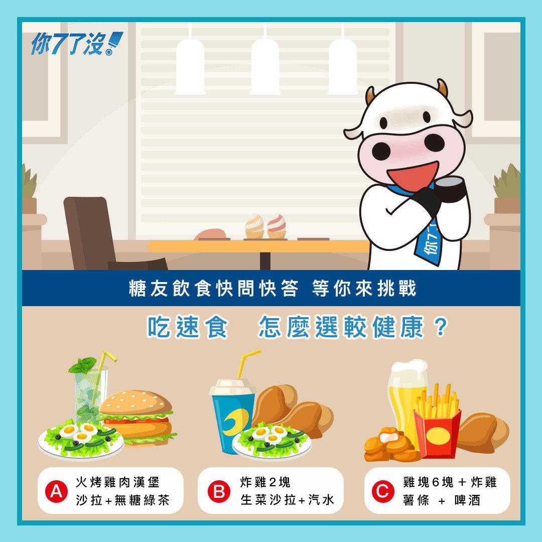【糖友飲食快問快答 吃速食怎麼選卡健康?】