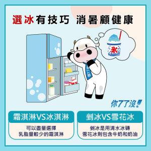 夏季冰品大PK 教你消暑顧健康