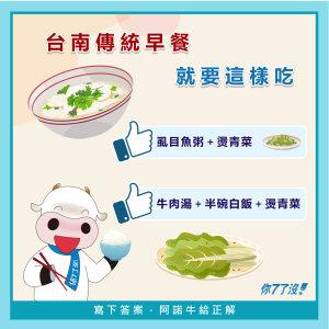 台南人照過來~傳統早餐這樣吃